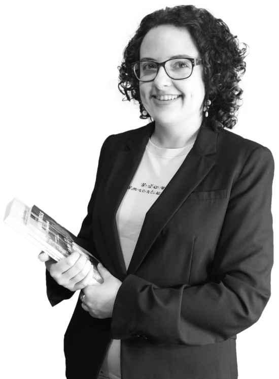 Silvia Cernadas, de Turismo de Historias, en Soutomaior.